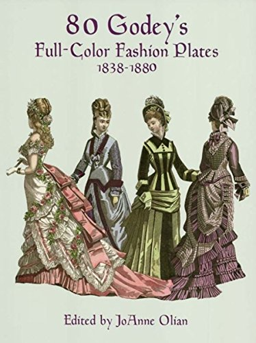 r Fashion Plates: 1838-1880 (Dover Fashion and Costumes) (1880 Kostüme)