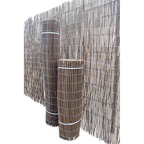 Weidenzaun Sichtschutz Holzzaun Weidenmatte Gartenzaun Sichtschutzmatte 500x200