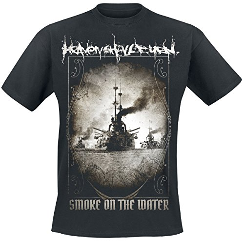 Heaven Shall Burn Smoke On The Water T-Shirt Schwarz XL (Burn-jungen-t-shirt)