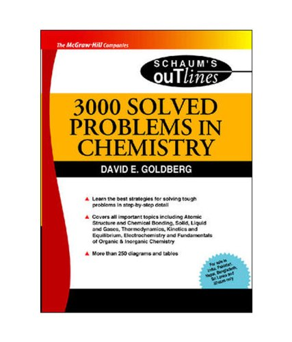 3000 Solved Problems In Chemistry (Sie) (Schaums Outline Series), 1Ed
