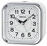 Seiko Unisex Wecker Analog weiß QHE130W