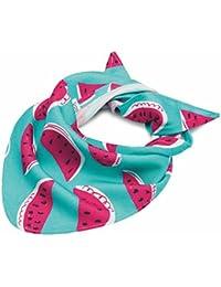 MayLily Premium | Pañuelo para la cabeza e cuello de bambú | niñas niños e bebe | Antialérgicos y Antifúngicos | Disponible en muchos colores | Fabricado en la UE