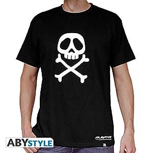 ABYstyle abystyleabytex228-xs Abysse Capitain Harlock emblema de manga corta Hombre basic camiseta (XS)