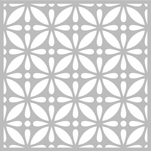 Pochoir Fleur 32 x 32 cm - Pochoir Artemio - Stencil Fleurs
