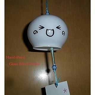 Wind Glocke Japanische Wind Chimes Handgefertigtes Glas Wind chimes- (Smile)