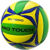 PRO TOUCH Beach Bola Volley de Playa Volleyball BV-1000 - 5, amarillo/azul/verde