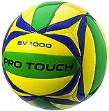 PRO TOUCH 62257976005 Ballon de Beach-Volley Mixte Adulte, Jaune/Bleu/Vert, Taille Unique