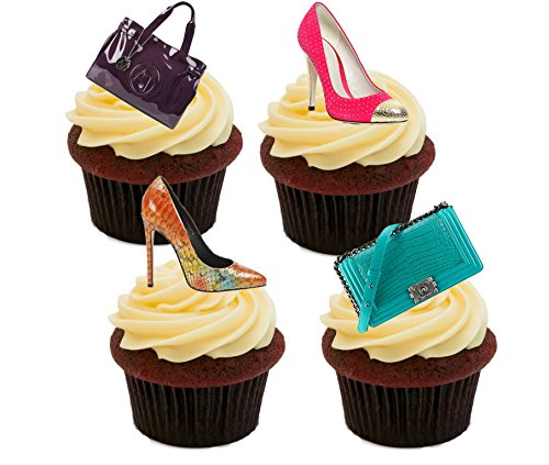designer-handbags-and-shoes-edible-cupcake-toppers-stand-up-wafer-cake-decorations-pack-of-24