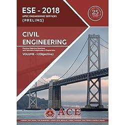 ESE 2018 UPSC Prelims Civil Engineering Objective Volume 1