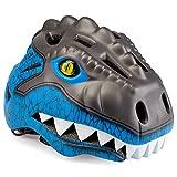 AiteFeir Kinder Kid Fahrradhelm Dinosaurier (Blau)