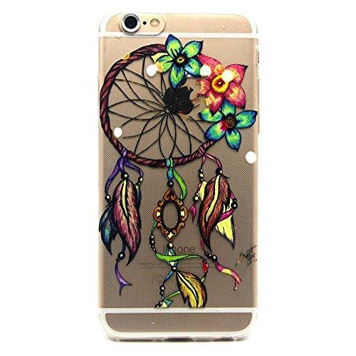 TPU Silikon Schutzhülle Handyhülle Painted pc case cover hülle Handy-Fall-Haut Shell Abdeckungen für Smartphone Apple iPhone 6 6S+Plus (5.5 Zoll)+Staubstecker (Q13) 6