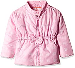 612 League Baby Girls Jacket (ILW16I79012_Light Pink_12-18M)