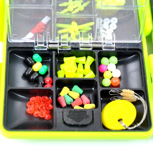 THKFISH Fishing Tackle Box Utility Box Haken Wirbels Angel-Zubehör-Box - 4