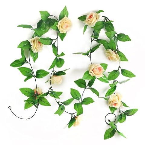 Lierre Artificiel Guirlande Feuillage Feuille Fleur Plante Déco Mariage Fête