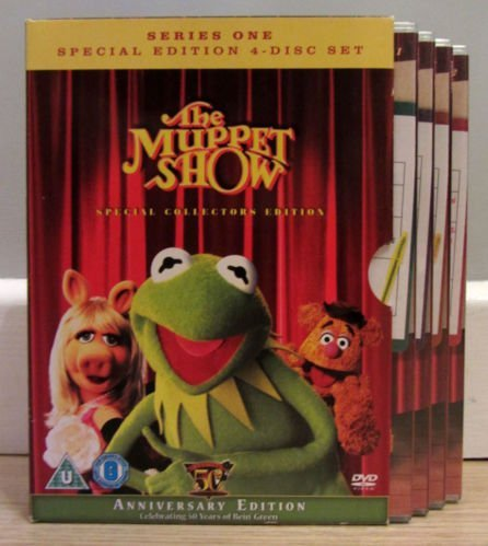 THE MUPPET SHOW. SERIES ONE SPECIAL COLLECTORS EDITION 4 DISC DVD SET. includes bonus features.