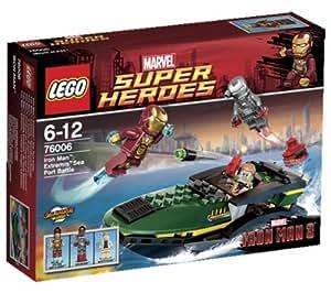 LEGO Super Heroes 76006 - Iron Man Extremis, Battaglia al porto