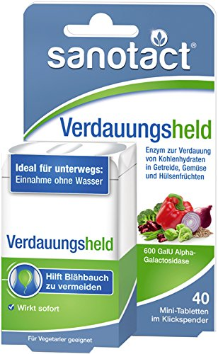 Sanotact Verdauungsheld Mini-Tabletten 40St.