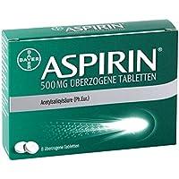 Aspirin 500 mg Tabletten, 8 St. preisvergleich bei billige-tabletten.eu