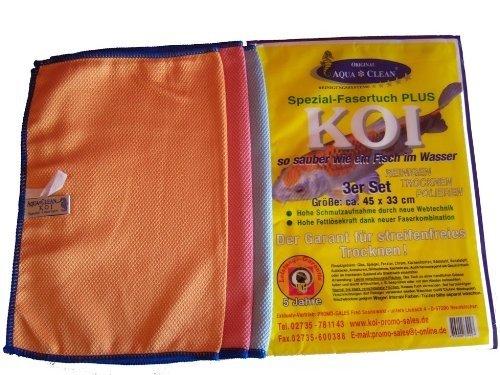 Aqua Clean Koi-Tücher 3tlg Set klein