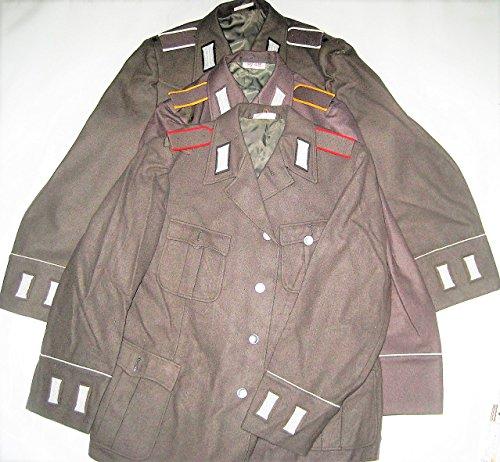 3 stk NVA Uniform -Jacken Soldat Effekten Gr. 48 Fasching (Leutnant Kostüme)