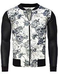 Carisma - Veste fashion homme Carisma 5-068 Noir