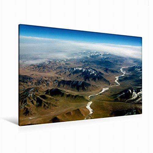 Premium Textil de lienzo 45cm x 30cm kirgisien Horizontal, 120 x 80 cm por Denis Feiner