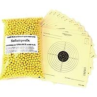 2500 Umarex Softairkugeln BB´s , 6mm , 0,12g + 10 Umarex Zielscheiben