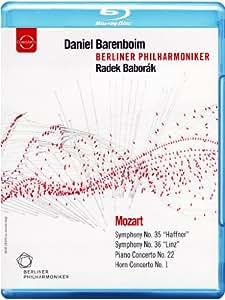 Europa Konzert 2006 (Symphony 35/ 36/ Piano Concerto/ Horn Concerto) (Radek Baborák/ Berliner Philharmoniker/ Daniel Barenboim) (Euroarts: 2055304) [Blu-ray] [2012] [Region Free]