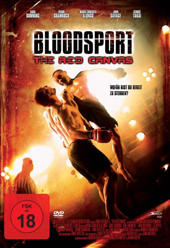 Price comparison product image Bloodsport - The Red Canvas (German Import) [DVD]