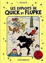 Les exploits de Quick et Flupke - 2e volume de Herge