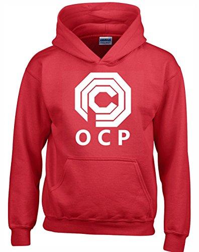 Crown Designs OCP Sci Fi Film Inspiriert Geschenk Unisex Pullover Für Männer, Frauen Und Jugendliche (Rot/4X-Large)