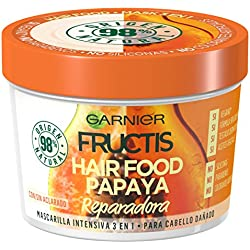 Garnier Fructis Hair Food Papaya Mascarilla 3 en 1 - 390 ml
