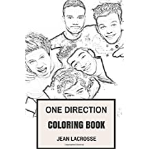 One Direction Coloring Book: English Pop Boy Band and Rock Sensations Zayn Malik and Harry Styles Inspired Adult Coloring Book