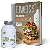 """Eiweiß-Paket """"Gesundes Abnehmen"""": 1 Flasche Good Eggwhites (Bio-Eiklar) & das Abnehm-Buch v. Pumperlgsund - bekannt aus """"Die Höhle der Löwen"""""""