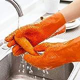 Queta Pelatrici Guanti rapido Frutta Pela Patate Verdura Processing Tools Guanti Strumenti di Cottura, Orange
