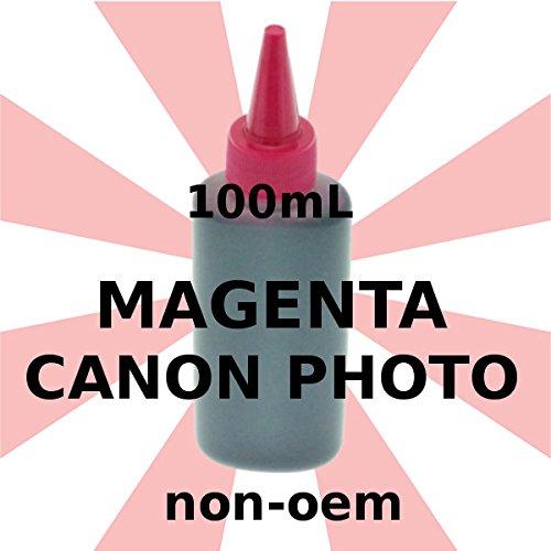 Tinte Foto Canon Magenta 100ml Générique - 100 Magenta Tinte
