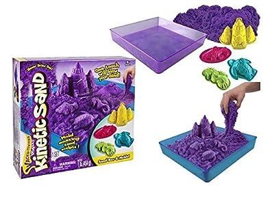 (1) Kinetic Sand Box Set