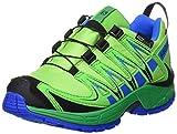 Salomon Xa Pro 3D Cswp J, Scarpe Outdoor Multisport Unisex – Bambini, Verde (Tonic Green/Athletic Green X/Union), 31 EU