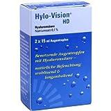 Hylo-Vision HD Augentropfen, 2x15 ml