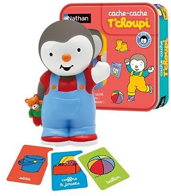 Nathan - 31018 - Cache Cache T'choupi - Jeu Educatif Electronique
