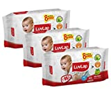 #2: Luvlap Paraben Free Baby Wet Wipes with Aloe Vera - 3 packs (216 Wipes + 24 Wipes Free)