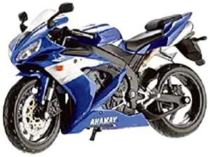 buy maisto 1 12 yamaha yzf r1 blue online at low prices
