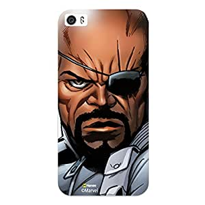 Hamee Original Marvel Character Licensed Designer Cover Slim Fit Plastic Hard Back Case for iPhone 7 ( Avengers Nick Fury )