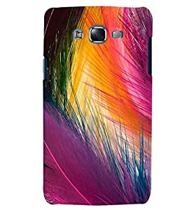 Citydreamz Colorful Peacock Feather/Birds/Mor Pankh Hard Polycarbonate Designer Back Case Cover For Samsung Galaxy J2 2016 Edition