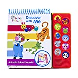 Baby Einstein - Learning Easel: Discover With Me Animals! Colors! Sounds! - PI