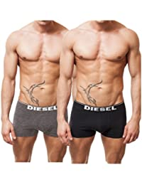"Diesel ""Kory 2 Pack"" Boxer, 1 x Noir, 1 x Gris"