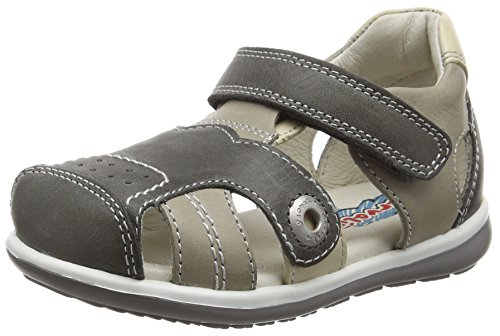 Garvalin Arta, Chaussures Premiers pas bébé garçon Gris (B Marengo Y Ceniza Galera Y Kaiser)