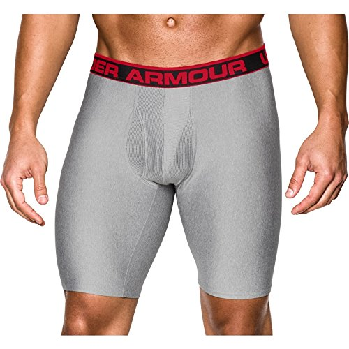 Under Armour Herren Sportswear Unterhose The Original 9 Zoll Boxerjock, True Gray Heather, L, 1230365
