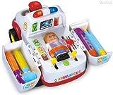 SUNKCCI Apprentissage musical Workbench Kids Toy avec des outils, des effets sonores d'ingénierie Fun et lumières/Trieur de forme, meilleur choix cadeau pour les enfants 907