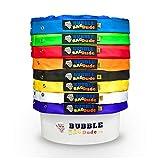 bubblebagdude Bubble Staubbeutel 5Gallonen 8Bag Set–Herbal Ice Essence Extractor Tasche, kommt mit Drücken Bildschirm und Aufbewahrungstasche